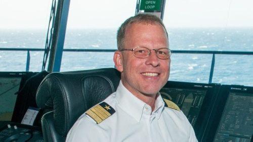 Kapitän Jonas Lyddby / © TUI Cruises