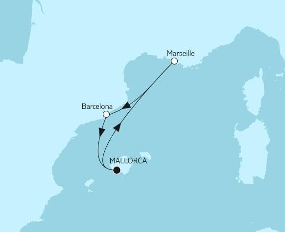 Die Full Metal Cruise 2019 an Bord der Mein Schiff 6 / ©TUI Cruises