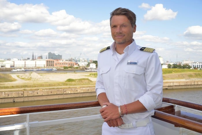 Kapitän Tobias Pietsch / © TUI Cruises
