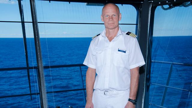 Kapitän Todd Burgman / © TUI Cruises