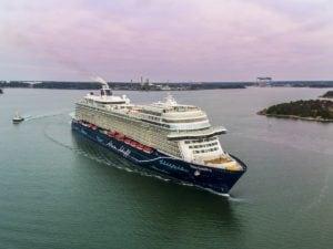 TUI Cruises bietet neue Annehmlichkeiten bei der An- und Abreise