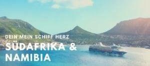 Mein Schiff Herz nimmt im Winter 2020/2021 Kurs auf Südafrika und Namibia