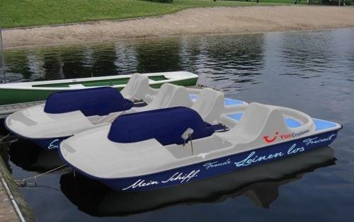 Mein Tretboot - neu bei Mein Schiff / © TUI Cruises