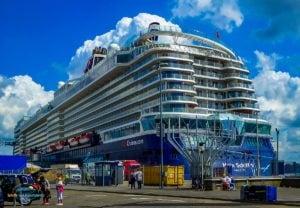 Mein Schiff 5: Technischer Stopp in Wilhelmshaven von 06. bis 08.Juli 2020