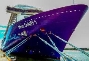 TUI Cruises: Blaue Reisen ab 31.7. auch mit Mein Schiff 1 ab / bis Kiel