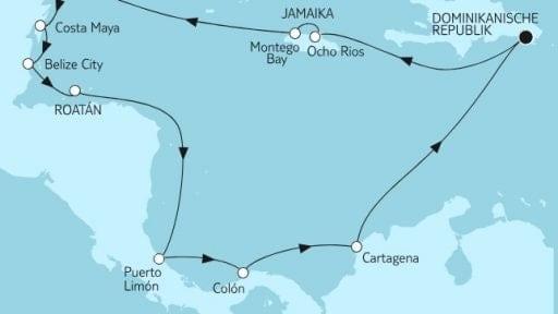 Mein Schiff 1 Mittelamerika 1 / ©TUI Cruises