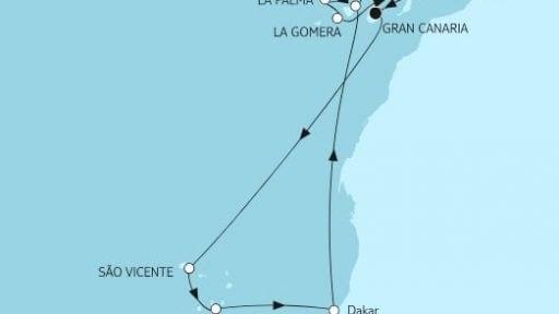 Mein Schiff 3 Kanaren mit Kapverden / ©TUI Cruises