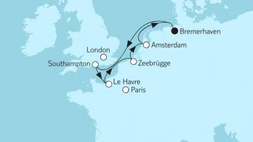 Mein Schiff 3: Westeuropa mit Amsterdam II / ©TUI Cruises
