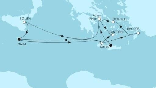 Mein Schiff 5 Kreta bis Malta II / ©TUI Cruises