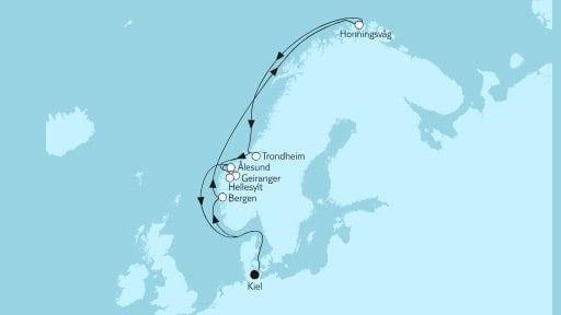 Mein Schiff 6 Norwegen mit Nordkap III / ©TUI Cruises Mein Schiff 6 Norwegen mit Nordkap III / ©TUI Cruises