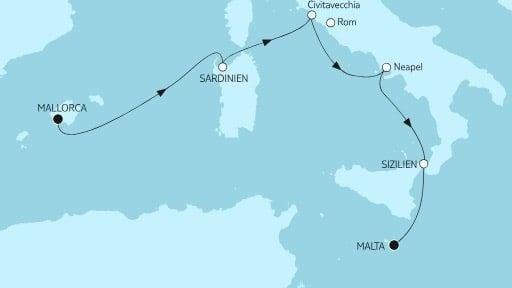 Mein Schiff Herz Mallorca bis Malta II / ©TUI Cruises