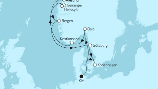 Norwegen mit Geirangerfjord III / ©TUI Cruises